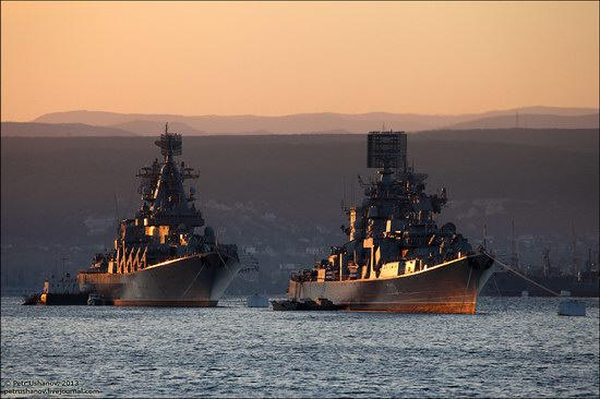 The Black Sea Fleet parade, Sevastopol, Ukraine photo 3
