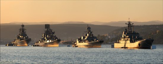 The Black Sea Fleet parade, Sevastopol, Ukraine photo 7