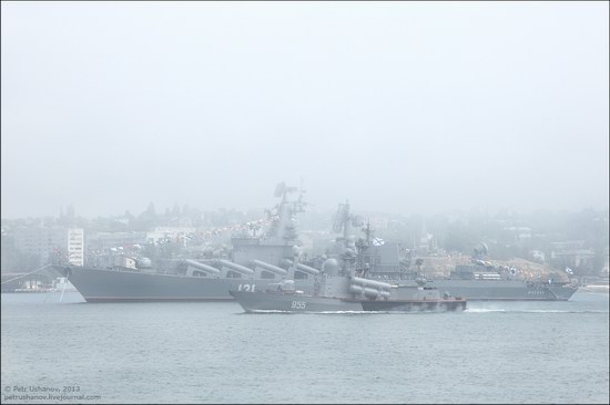 The Black Sea Fleet parade, Sevastopol, Ukraine photo 9