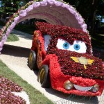 Exhibition of flower cars at Pevcheskoe Pole in Kiev