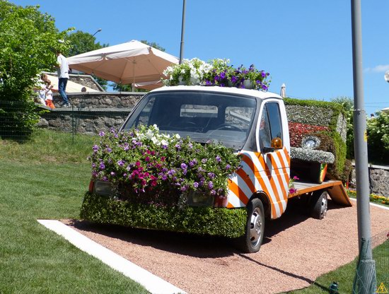 Exhibition of flower cars at Pevcheskoe Pole in Kiev, Ukraine photo 14