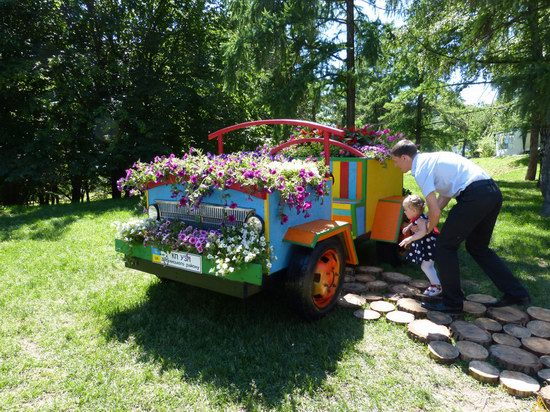 Exhibition of flower cars at Pevcheskoe Pole in Kiev, Ukraine photo 15