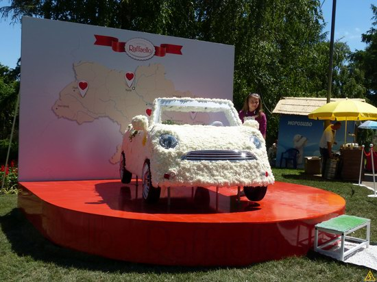 Exhibition of flower cars at Pevcheskoe Pole in Kiev, Ukraine photo 16