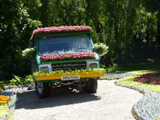 Exhibition of flower cars at Pevcheskoe Pole in Kiev, Ukraine photo 6