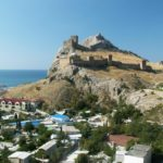 Sudak – seaside resort city in Crimea, Ukraine