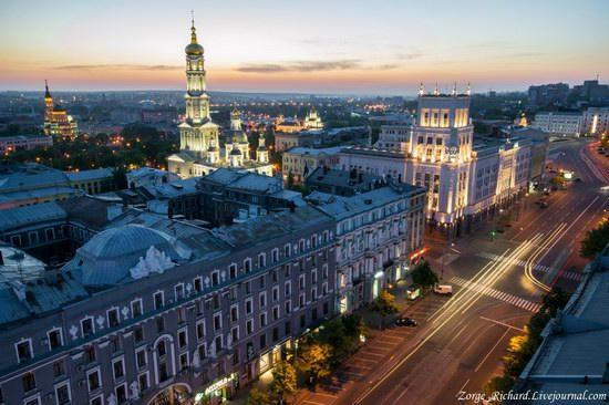 Kharkov Ukraine - look from the rooftops photo 1