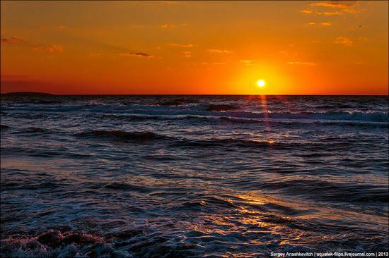 Sunset on the Generals Beaches, Crimea, Ukraine photo 2