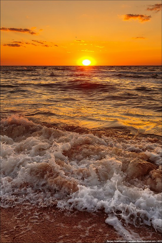 Sunset on the Generals Beaches, Crimea, Ukraine photo 4