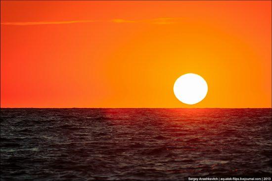 Sunset on the Generals Beaches, Crimea, Ukraine photo 5