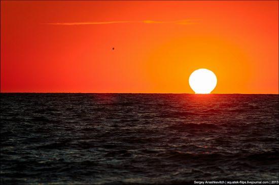 Sunset on the Generals Beaches, Crimea, Ukraine photo 6
