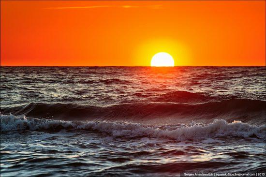 Sunset on the Generals Beaches, Crimea, Ukraine photo 7