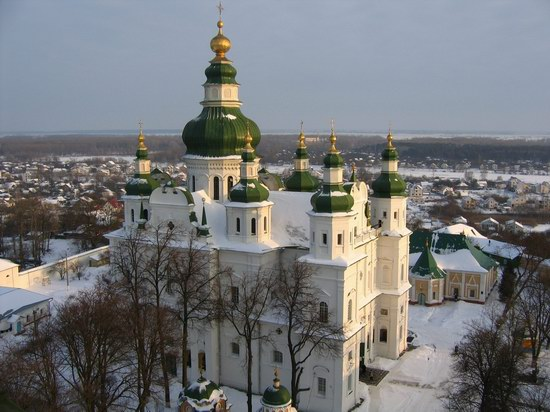 Trinity Cathedral in Chernigov Ukraine