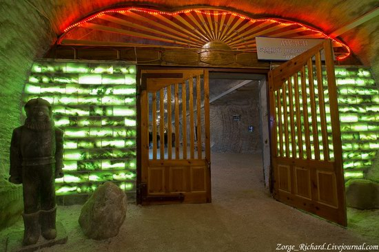 Underground salt museum, Soledar, Ukraine photo 3