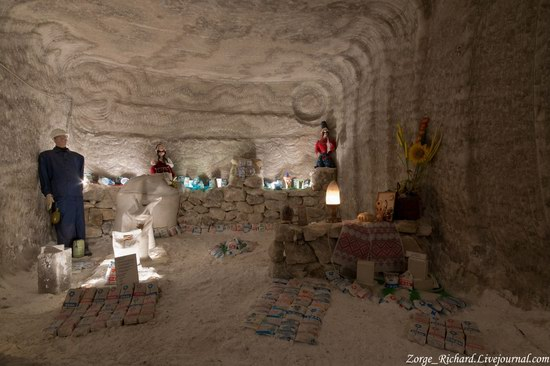 Underground salt museum, Soledar, Ukraine photo 5