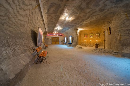 Underground salt museum, Soledar, Ukraine photo 8