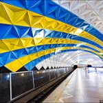 Beautiful Interiors of Metro Stations in Kharkiv