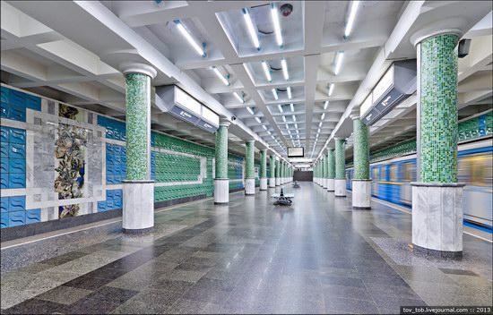 Kharkiv metro station, Ukraine photo 22