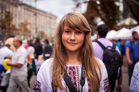 Ukrainians celebrating Independence Day, Kyiv photo 1