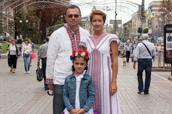 Ukrainians celebrating Independence Day, Kyiv photo 11