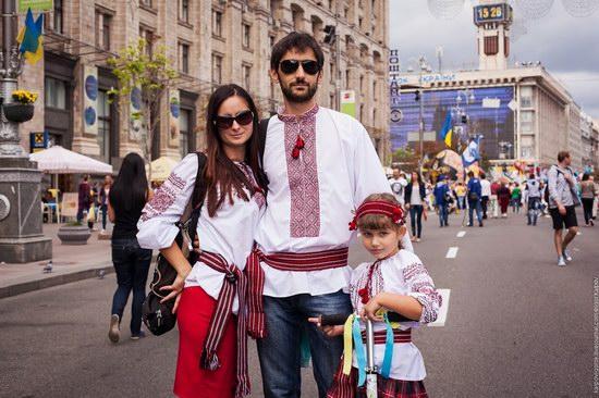 Ukrainians celebrating Independence Day, Kyiv photo 12