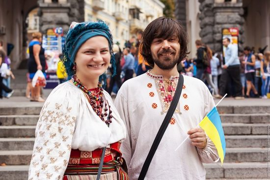 Ukrainians celebrating Independence Day, Kyiv photo 14