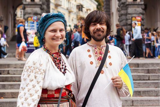 Ukrainians celebrating Independence Day, Kyiv photo 14