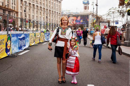 Ukrainians celebrating Independence Day, Kyiv photo 15