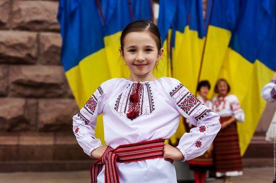 Ukrainians celebrating Independence Day, Kyiv photo 17