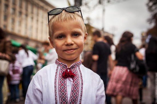 Ukrainians celebrating Independence Day, Kyiv photo 18