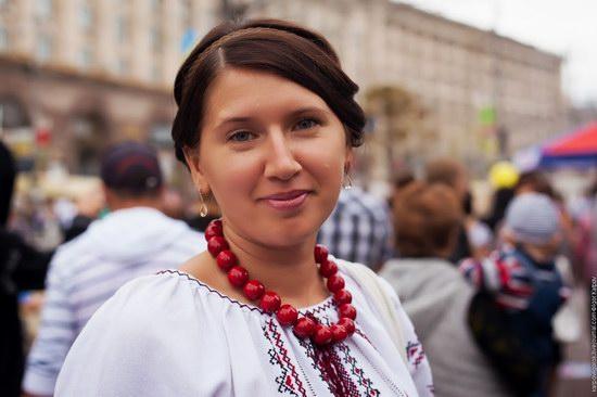 Ukrainians celebrating Independence Day, Kyiv photo 3