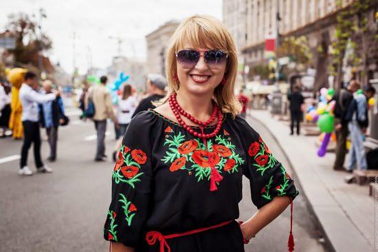 Ukrainians celebrating Independence Day, Kyiv photo 9