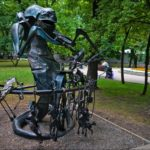 The Park of Forged Figures in Donetsk