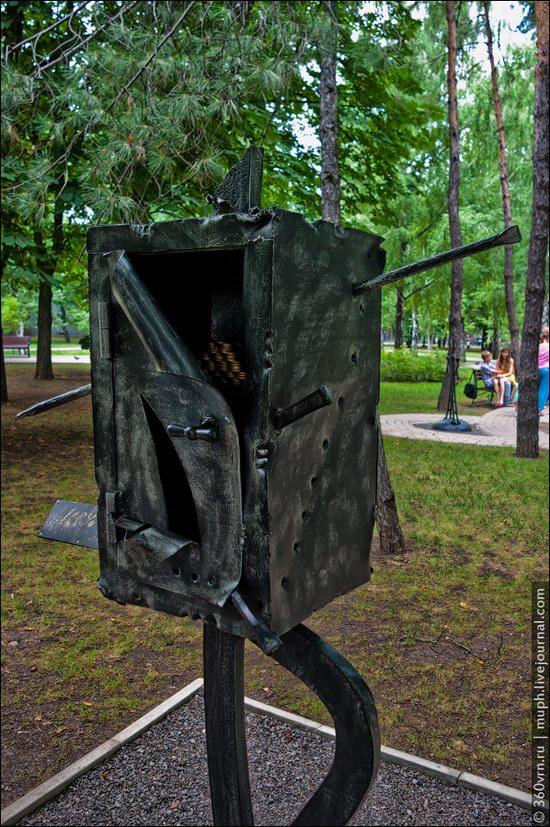 Forged Figures Park, Donetsk, Ukraine photo 10