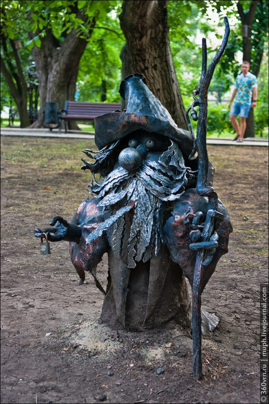 Forged Figures Park, Donetsk, Ukraine photo 4