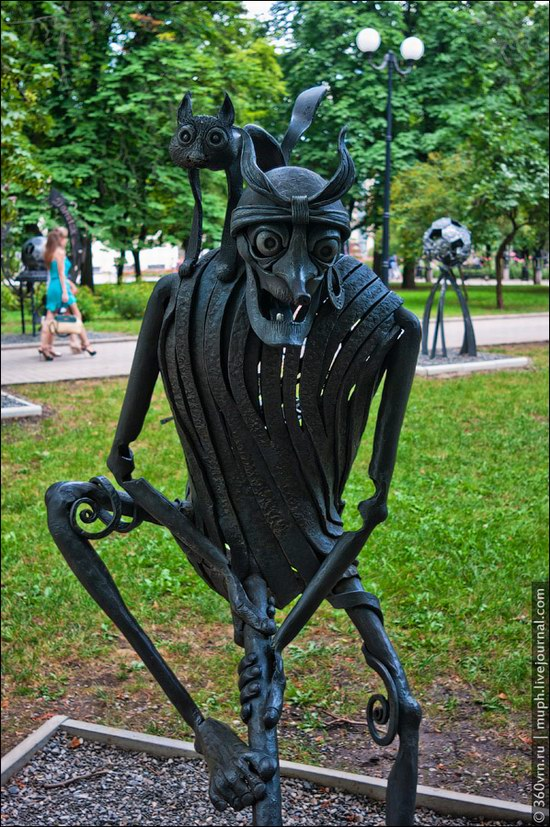 Forged Figures Park, Donetsk, Ukraine photo 6