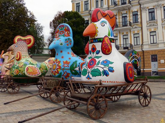 Ukrainian regions birds - Independence Day parade photo 1