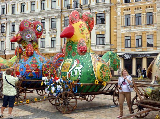 Ukrainian regions birds - Independence Day parade photo 10
