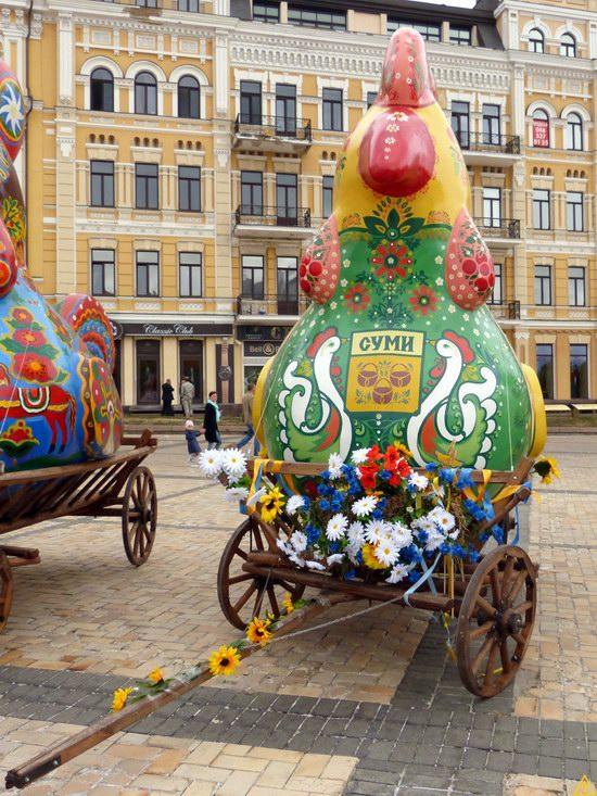 Ukrainian regions birds - Independence Day parade photo 12