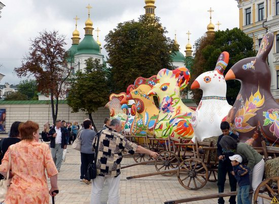 Ukrainian regions birds - Independence Day parade photo 14