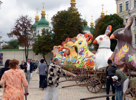 Ukrainian regions birds - Independence Day parade photo 14