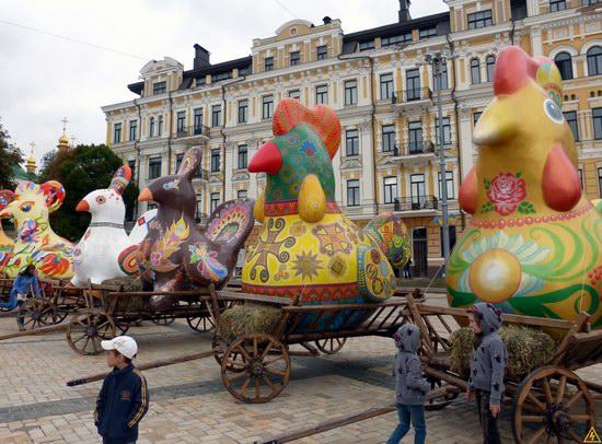 Ukrainian regions birds - Independence Day parade photo 15