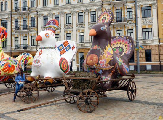Ukrainian regions birds - Independence Day parade photo 16