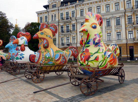 Ukrainian regions birds - Independence Day parade photo 17
