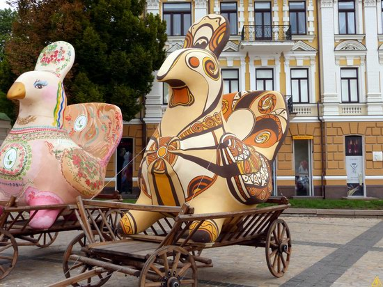 Ukrainian regions birds - Independence Day parade photo 19