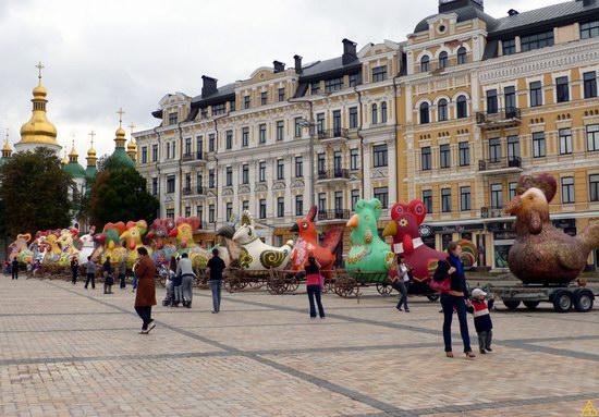 Ukrainian regions birds - Independence Day parade photo 2
