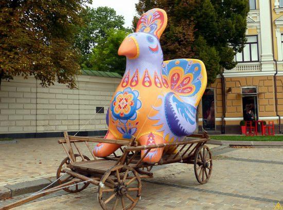 Ukrainian regions birds - Independence Day parade photo 20