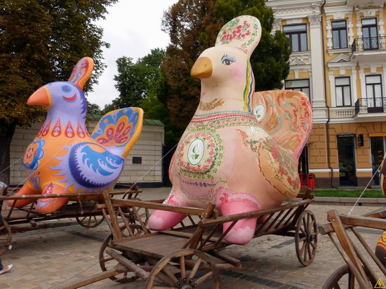 Ukrainian regions birds - Independence Day parade photo 21