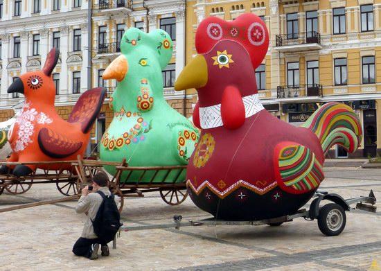 Ukrainian regions birds - Independence Day parade photo 3