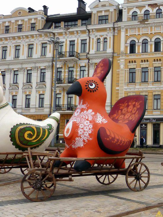 Ukrainian regions birds - Independence Day parade photo 7