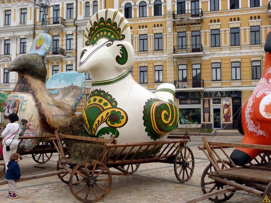 Ukrainian regions birds - Independence Day parade photo 9